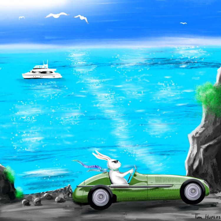 Monaco Maserati Bunny